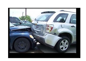 rear end car crash